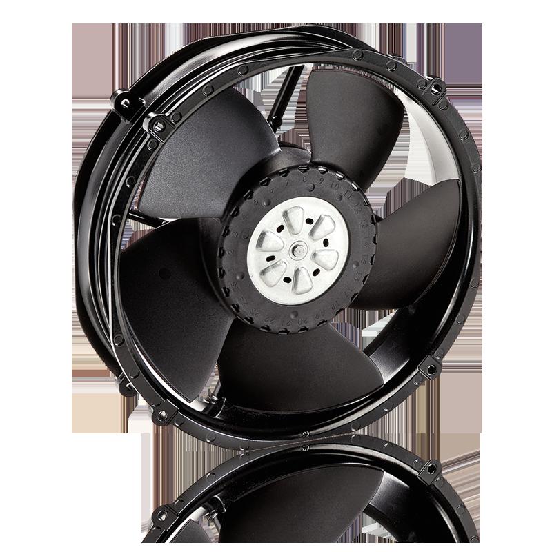 60 x 60 x 25mm L x W x H EBM PAPST 624 HH Axial Fan 24V 56 m³//h